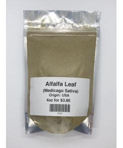 Alfalfa leaf 4oz
