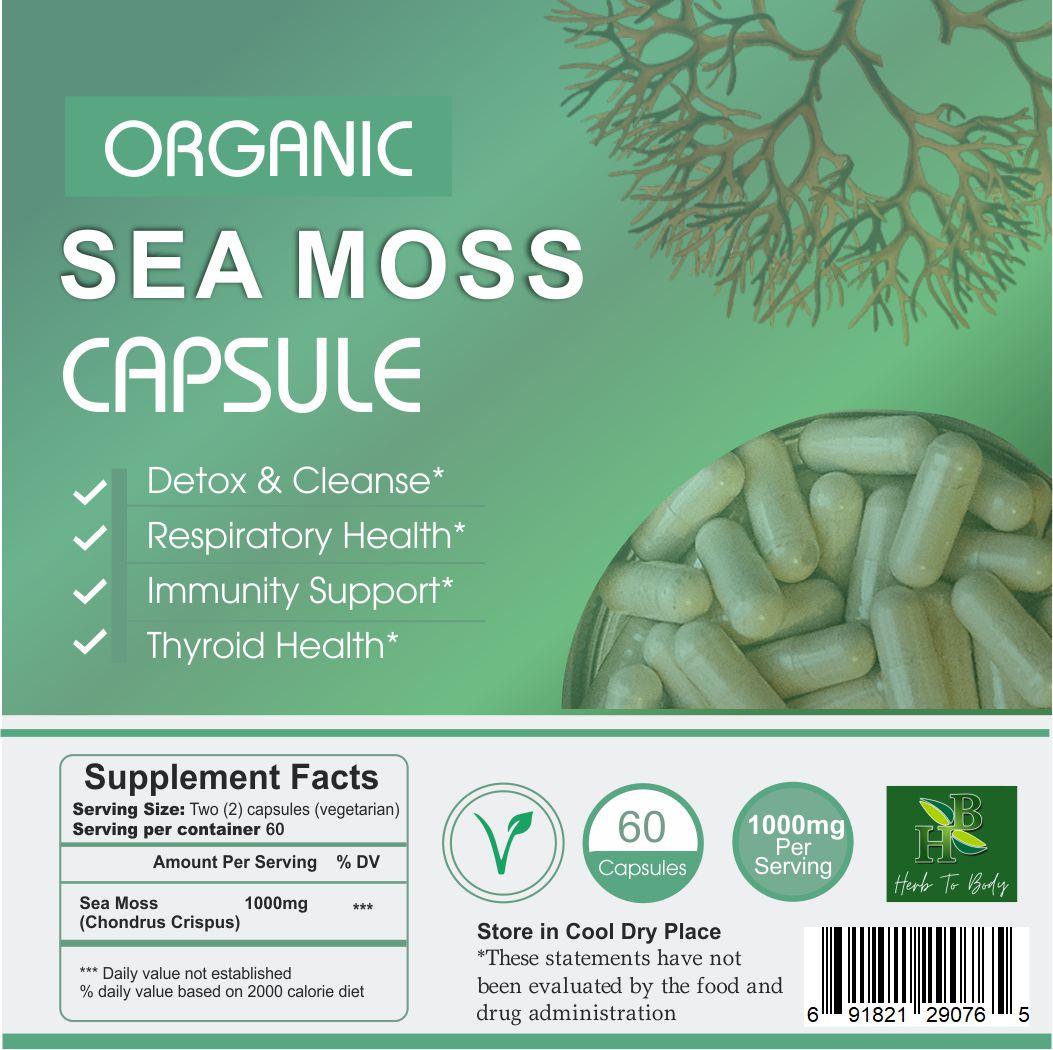 sea moss capsule