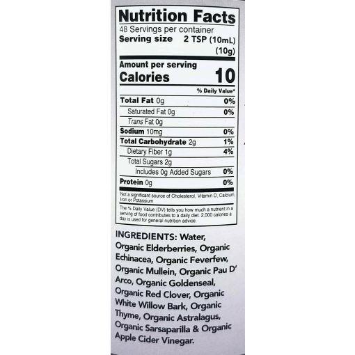 the immunity formula ingredients